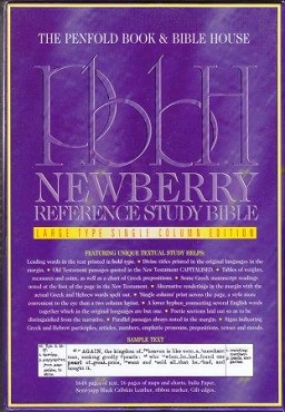NEWBERRY REFERENCE STUDY BIBLE