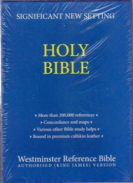 WESTMINSTER REFERENCE BIBLE