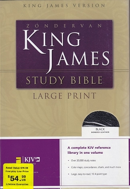 ZONDERVAN KING JAMES STUDY BIBLE
